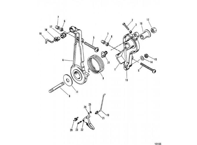 Mercruiser Throttle Lever Diagram Com
