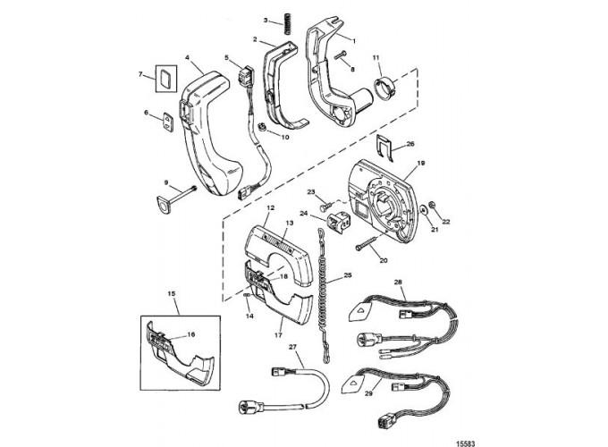Commander 3000 Panel(88150A40 - A48) | Marine Engine Parts